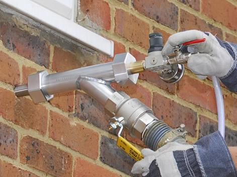 Cavity Wall Insulation Grants Available with ECO Scheme - Installing Cavity Wall Insulation