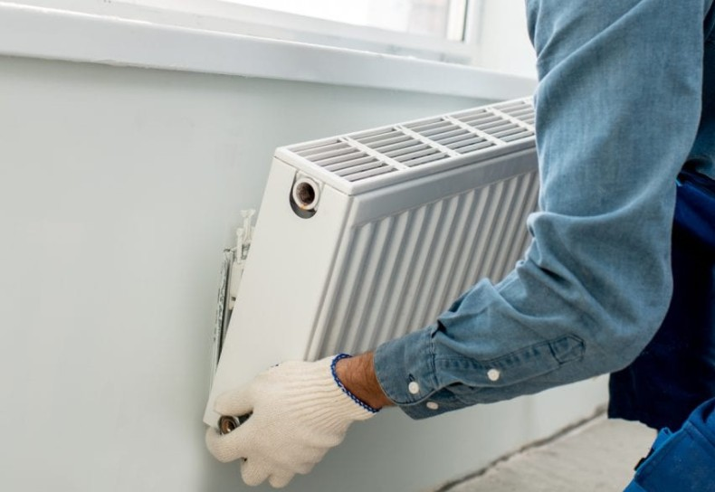Newcastle central heating grants - installing central heating radiators